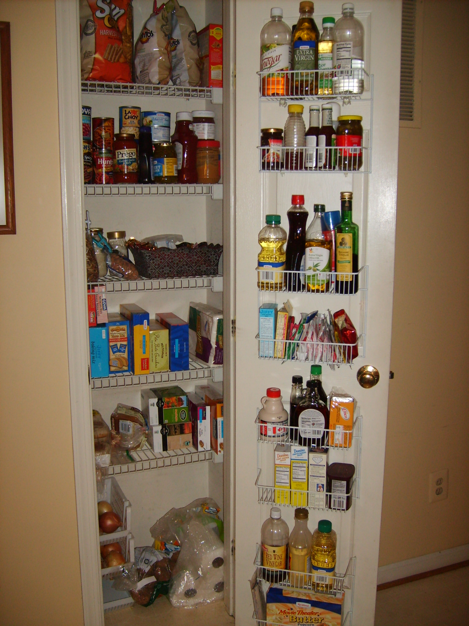 Organization Can Lead To Beauty Part One Of A Pantry
