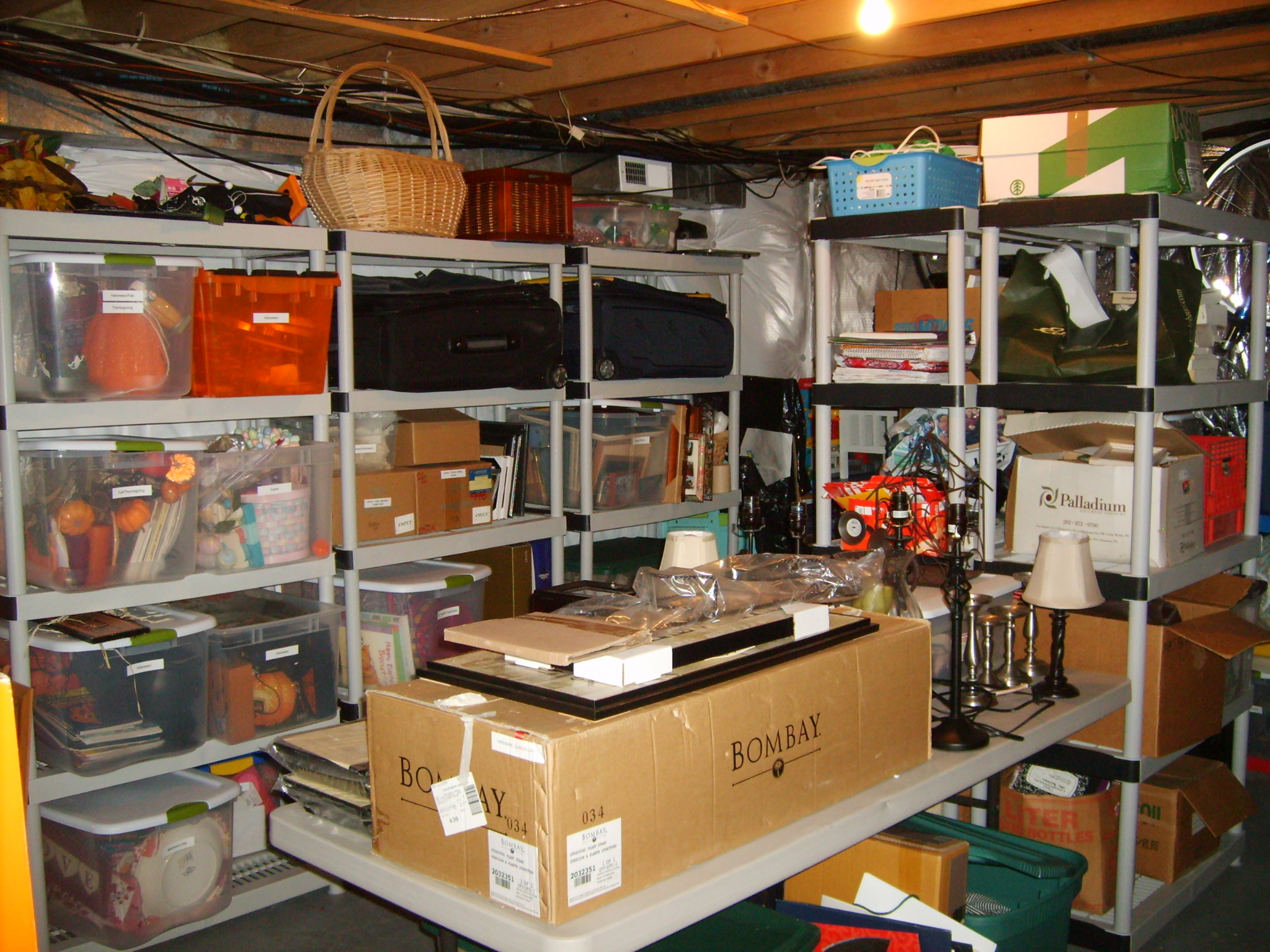 Before And After Photos Storage Room Makeover Basic