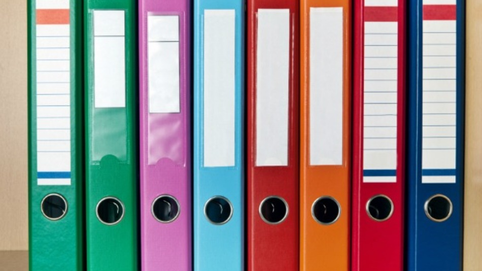 When Are Binders Appropriate Basic Organization